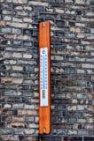 utomhus- termometer Royaltyfria Foton