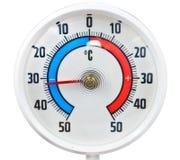 Utomhus- termometer Royaltyfri Foto