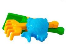 utomhus- toys för barn royaltyfri fotografi
