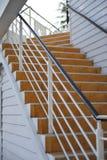 Utomhus- trappa Arkivbild