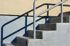 utomhus- trappuppgång Fotografering för Bildbyråer
