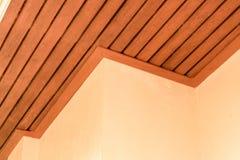 Utomhus- wood takkonst Arkivbilder