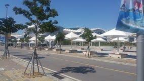 Utomhus- Yeosu parkerar Arkivbilder