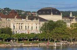 Utoquai Quay In Zurich Stock Photography