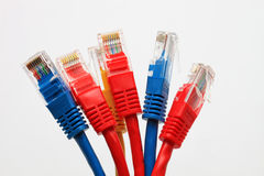 UTP network cable Stock Photo