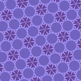 Utraviolet Abstract Pattern. Illustration. royalty free stock photography