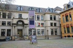 Utrecht-Archiv und Haus der Leistung in Mitte von Utrecht, t Stockbild