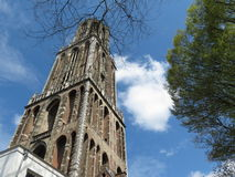 Utrecht cathedral Royalty Free Stock Photo
