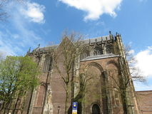 Utrecht cathedral royalty free stock photography