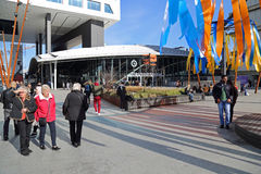 Utrecht centrali stacja, Holandia Zdjęcie Royalty Free