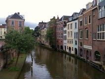 Utrecht. City centre of Utrecht, Netherlands Royalty Free Stock Photo
