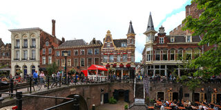 Utrecht City centre Stock Image