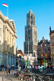 Utrecht cityscape Royalty Free Stock Image