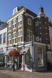 Utrecht, die Niederlande - 27. September 2018: Historisches Gebäude a lizenzfreie stockbilder