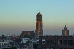 Utrecht, die Niederlande - 27. September 2018: St- Martinskathedrale stockfoto