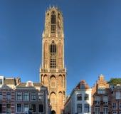 Utrecht Dom Tower Stock Afbeelding