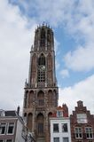 Utrecht Dom Tower Immagine Stock Libera da Diritti