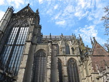 Utrecht domkyrka Royaltyfria Bilder
