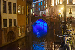 Utrecht Downtown, Netherlands Royalty Free Stock Images