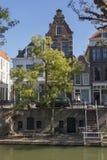 Utrecht, holandie - Wrzesień 27, 2018: Schodki od kanału fotografia stock