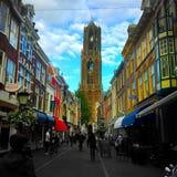 Utrecht Nederländerna Arkivfoton