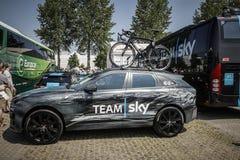 Utrecht Nederländerna 4th Juli, 2015 Tour de France Tid Arkivfoton