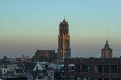 Utrecht, Netherlands - September 27, 2018: St. Martins cathedral stock photo