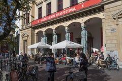 Utrecht, Países Bajos - 27 de septiembre de 2018: Winkel van Sinkel res foto de archivo