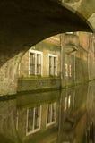 Utrecht (Países Bajos) por noche Fotos de archivo
