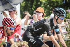 Utrecht, Pays-Bas 4ème de juillet 2015 Temps de Tour de France Image libre de droits
