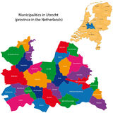 Utrecht - province of the Netherlands Stock Photo