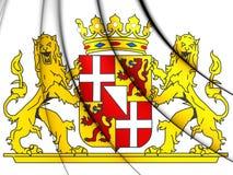 Utrecht-Provinz-Wappen, die Niederlande Stockfotografie