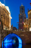 Utrecht at twilight Royalty Free Stock Images