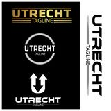 Utrecht typography set, flat designs. EPS file available. see more images related vector illustration