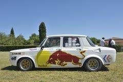 Utrustat Renault 8 Gordini springa Arkivfoto