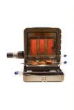 Utrustning för att laga mat kebab Royaltyfri Fotografi