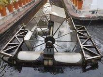 Utrustning för avloppsvattenbehandling Arkivbild