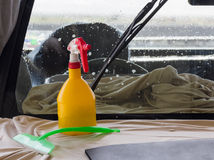 Utrustning för bilwash Royaltyfri Fotografi