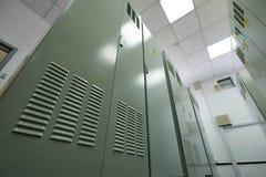 Utrustning för elektrifiering Arkivfoto