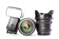 Utrustning för fotografi royaltyfri fotografi