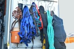 Utrustning för hästridning Royaltyfria Foton