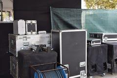 Utrustning för kapaciteter Royaltyfri Fotografi