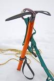 Utrustning för klättring Arkivbilder