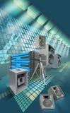 utrustning för ljudsignal 01 Royaltyfria Foton