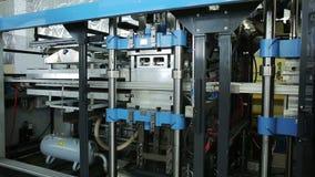 Utrustning för produktionslinjen av disponibla matbehållare för lagring arkivfilmer