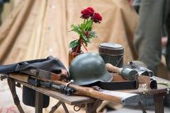 Utrustning för världskrig 2 royaltyfri foto