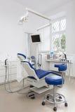 Utrustning i tand- kontor royaltyfri fotografi