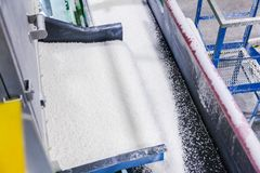 Utrustning inom kemisk produktion royaltyfri foto
