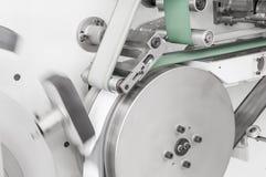 Utrustning med en roterande rulle fotografering för bildbyråer