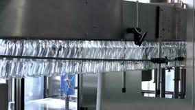 Utrustning på mjölkar fabriken arkivfilmer